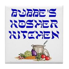 Bubbe's Kosher Kitchen Tile Coaster
