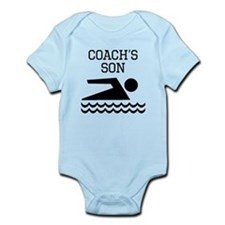 Swimming Coachs Son Body Suit