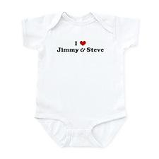 I Love Jimmy & Steve Infant Bodysuit