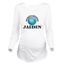 World's Greatest Jae Long Sleeve Maternity T-Shirt