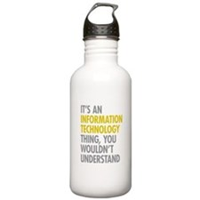 Its An Information Tec Water Bottle