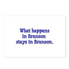 What Happens in Branson Stays Postcards (Package o