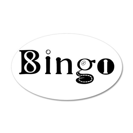 The Bingo Road Wall Decal
