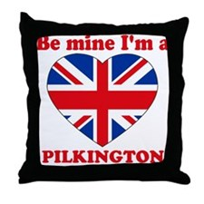 Pilkington, Valentine's Day Throw Pillow