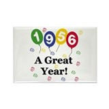 1956 A Great Year Rectangle Magnet