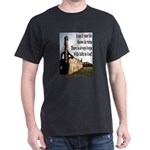 Life In Ruins Faith In God Dark T-Shirt