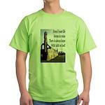 Life In Ruins Faith In God Green T-Shirt