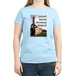 Life In Ruins Faith In God Women's Light T-Shirt