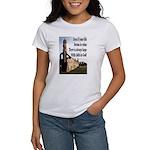 Life In Ruins Faith In God Women's T-Shirt
