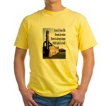 Life In Ruins Faith In God Yellow T-Shirt