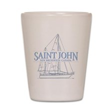St. John NB - Shot Glass