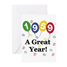 1959 A Great Year Greeting Cards (Pk of 10)