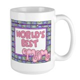 World's Best Mom Large Coffee Mug