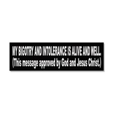 Funny Christ's Car Magnet 10 x 3