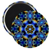 "Northern Lights Kaleidoscope 2.25"" Magnet (10 pack"