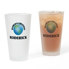 World's Greatest Roderick Drinking Glass