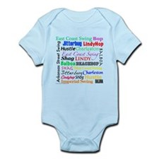 All Swing Dances Infant Bodysuit