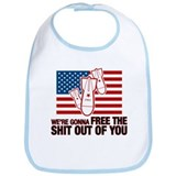 Cute Out of iraq Bib