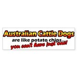Potato Chips ACD Bumper Bumper Sticker