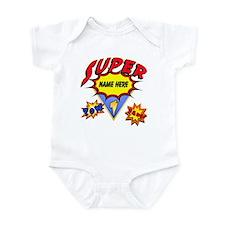 Superhero Comic Book Infant Body Suit