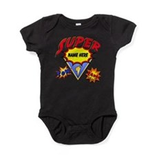 Superhero Comic Book Baby Bodysuit