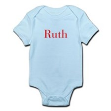 Ruth-bod red Body Suit