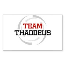 Thaddeus Rectangle Decal
