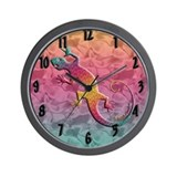 Island Gecko Wall Clock