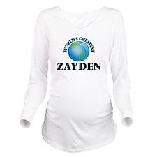 World's Greatest Zay Long Sleeve Maternity T-Shirt