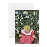 Gingham BearGreeting Cards (Pk of 10)