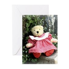 Bear on Step Greeting Cards (Pk of 10)