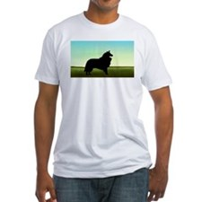 Grassy Field Collie Shirt