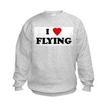I Love FLYING Sweatshirt