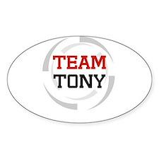 Tony Oval Decal