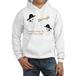 Yarrgh, pirate thoughts! Hooded Sweatshirt