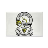 CUNNINGHAM 2 Coat of Arms Rectangle Magnet (10 pac