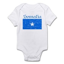 Somalia Flag Infant Bodysuit