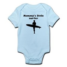 Mommys Little Surfer Body Suit