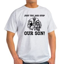 Personalize A High School Football Son T-Shirt