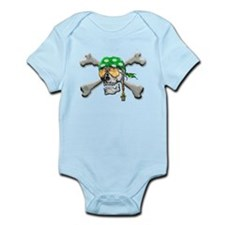 Scull and Cross Bones Infant Bodysuit