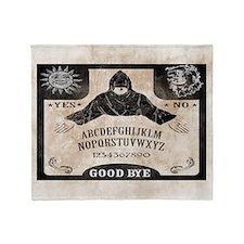Vintage Ouija Board Throw Blanket