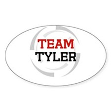 Tyler Oval Decal