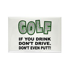 Don't Drink & Drive Rectangle Magnet