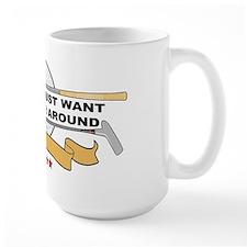 Golfers Putter Around Large Mug
