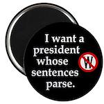 President's sentences should parse Magnet