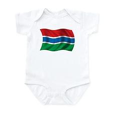 Wavy Gambia Flag Onesie