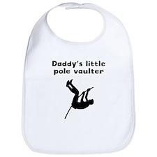 Daddys Little Pole Vaulter Bib