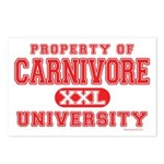 Carnivore U. Postcards (Package of 8)