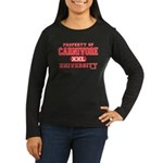 Carnivore U. Women's Long Sleeve Dark T-Shirt