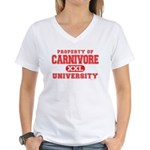 Carnivore U. Women's V-Neck T-Shirt